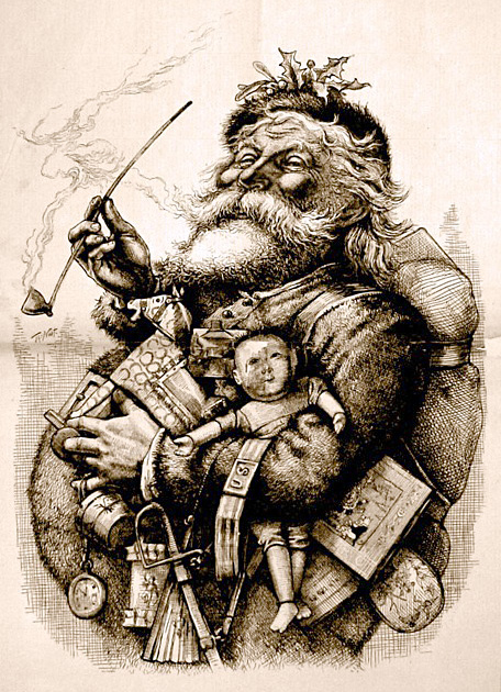 Santa Claus by Thomas Patt
